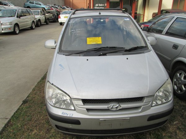 2004 HYUNDAI GETZ LOW KMS | Dismantling Now | Penrith Auto Recyclers are dismantling major brand cars right now! We offer fully tested second hand, used car parts and genuine or aftermarket products for most of the major brands. (../../dc/gallery/PAR_WEBSITE_CARS_010_2.jpg)