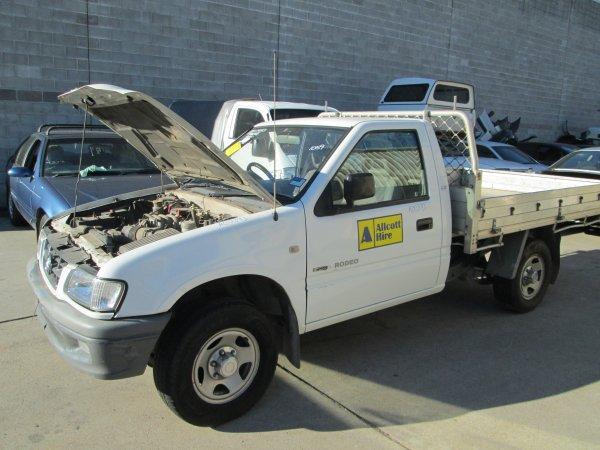 2002 HOLDEN RODEO V6 LOW KMS | Dismantling Now | Penrith Auto Recyclers are dismantling major brand cars right now! We offer fully tested second hand, used car parts and genuine or aftermarket products for most of the major brands. (../../dc/gallery/PAR_WEBSITE_CARS_011.jpg)