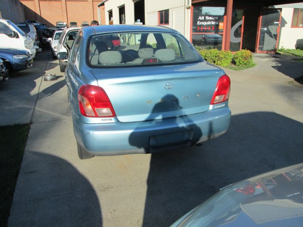 2000 TOYOTA ECHO MANUAL SEDAN | Dismantling Now | Penrith Auto Recyclers are dismantling major brand cars right now! We offer fully tested second hand, used car parts and genuine or aftermarket products for most of the major brands. (../../dc/gallery/PAR_WEBSITE_CARS_034.jpg)
