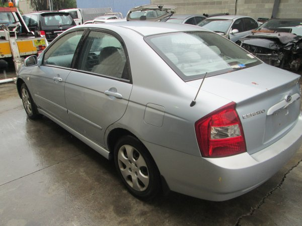 2004 KIA CERATO AUTO  | Dismantling Now | Penrith Auto Recyclers are dismantling major brand cars right now! We offer fully tested second hand, used car parts and genuine or aftermarket products for most of the major brands. (../../dc/gallery/par_004.jpg)