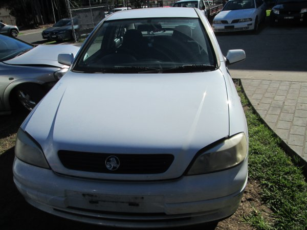 2001 HOLDEN ASTRA SEDAN LOW KMS  | Dismantling Now | Penrith Auto Recyclers are dismantling major brand cars right now! We offer fully tested second hand, used car parts and genuine or aftermarket products for most of the major brands. (../../dc/gallery/par_cars_008.jpg)
