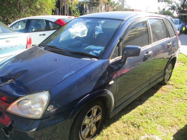 2005 SUZUKI LIANA  HATCH LOW KMS AUTO | Dismantling Now | Penrith Auto Recyclers are dismantling major brand cars right now! We offer fully tested second hand, used car parts and genuine or aftermarket products for most of the major brands. (../../dc/gallery/par_cars_015.jpg)