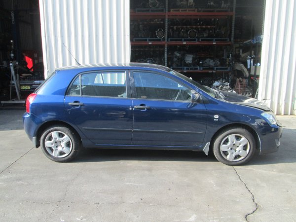 2005 TOYOTA COROLLA LOW KMS | Dismantling Now | Penrith Auto Recyclers are dismantling major brand cars right now! We offer fully tested second hand, used car parts and genuine or aftermarket products for most of the major brands. (../../dc/gallery/par_stock_cars_jan19_156.jpg)