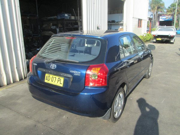 2005 TOYOTA COROLLA LOW KMS | Dismantling Now | Penrith Auto Recyclers are dismantling major brand cars right now! We offer fully tested second hand, used car parts and genuine or aftermarket products for most of the major brands. (../../dc/gallery/par_stock_cars_jan19_157.jpg)