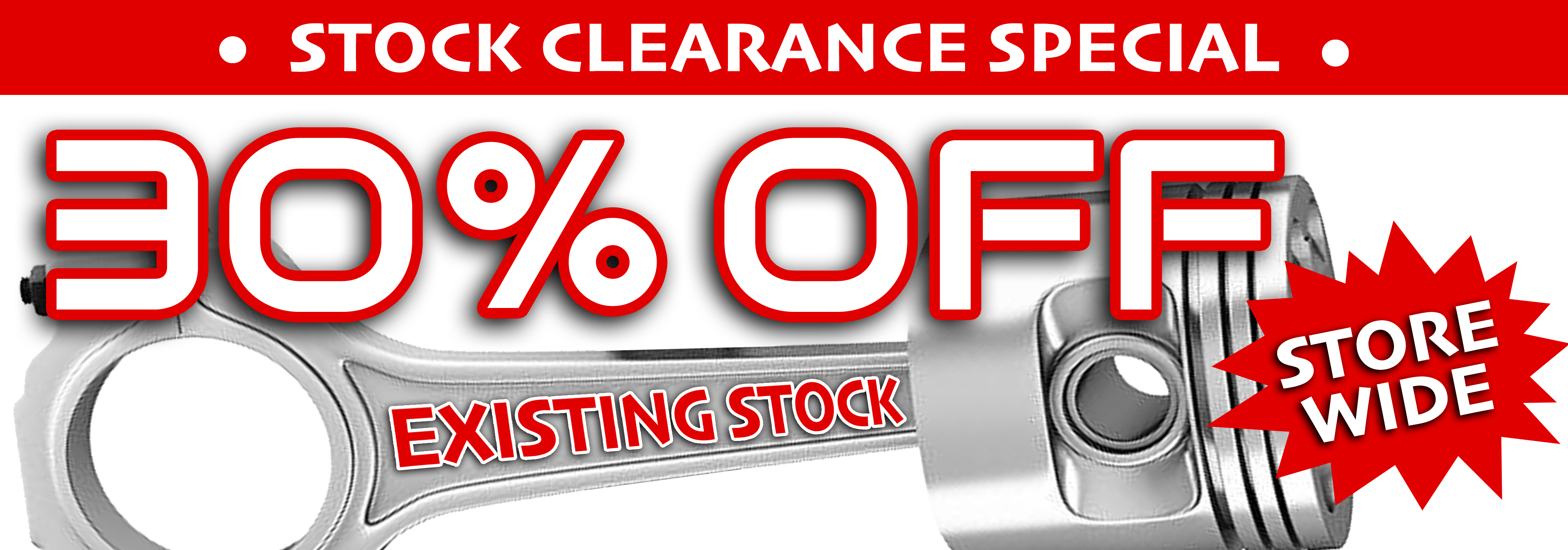 Car wreckers, Penrith Auto Recyclers in Western Sydney are offering a Christmas special of 30% off all existing stock store wide including fully tested quality second hand, used car parts and genuine or aftermarket products.